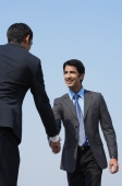 two businessmen shake hands (vertical) - Alex Mares-Manton