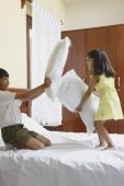 Pillow fight - Manoj Adhikari