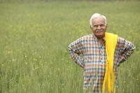 Farmer in field, hands on hips - Manoj Adhikari