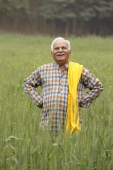 Farmer in field - Manoj Adhikari