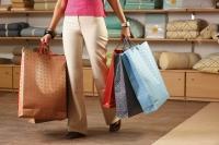 lady with shopping bags - Vivek Sharma
