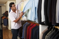 man shopping for shirts - Vivek Sharma