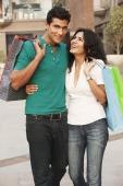couple with shopping bags - Vivek Sharma