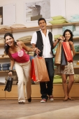 three friends shopping - Vivek Sharma