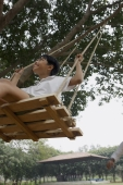 boy in swing - Manoj Adhikari