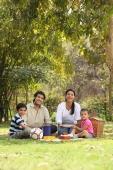 Family picnic in park - Deepak Budhraja