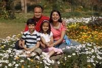 Family in park - Deepak Budhraja