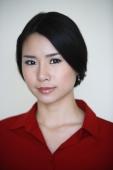 woman in red shirt - Yukmin