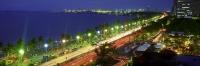 Roxas Boulevard at night, Manila, Philippines - OTHK