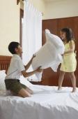 Pillow fight - Manoj Adhikari