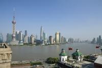 Skyline of Pudong, Shanghai, China - OTHK