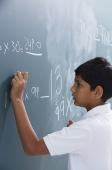 boy at chalkboard (side view) - Alex Mares-Manton