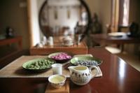 Tea set display, Shanghai, China - OTHK