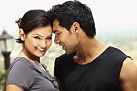 flirtatious couple - Vivek Sharma