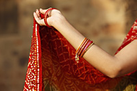 woman's arm wearing bangles - Vivek Sharma