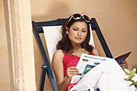woman reading - Vivek Sharma