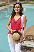 woman at resort - Vivek Sharma