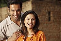 couple smiling - Vivek Sharma
