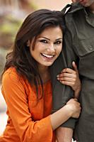 woman on man's arm - Vivek Sharma