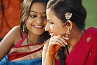two women in saris - Vivek Sharma