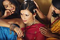 three women in saris - Vivek Sharma