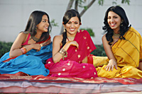 three women in saris - Vivek Sharma
