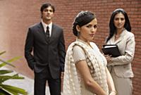 business associates, woman in sari - Alex Mares-Manton
