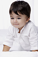 smiling baby boy - Alex Mares-Manton