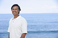 portrait of mature man at beach - Yukmin