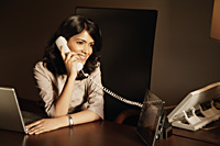 businesswoman on phone - Alex Mares-Manton