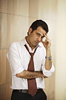businessman with serious expression - Alex Mares-Manton