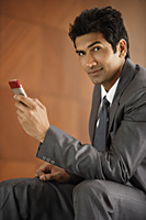 businessman on mobile phone - Alex Mares-Manton