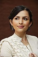 portrait of woman in sari - Alex Mares-Manton