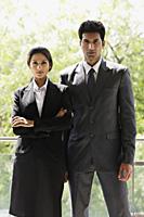 businessman and businesswoman - Alex Mares-Manton