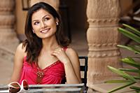 woman at cafe - Vivek Sharma
