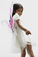 Little girl wearing wings - Vivek Sharma
