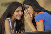 Teen girls sharing secrets - Vivek Sharma
