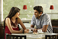 couple at cafe - Alex Mares-Manton