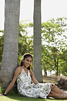 Teen girl in the park - Vivek Sharma
