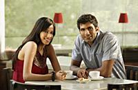 couple at cafe - Alex Mares-Manton