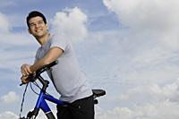 Man on bicycle - Yukmin