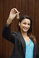 woman with set of keys - Alex Mares-Manton