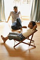 father and son - Alex Mares-Manton