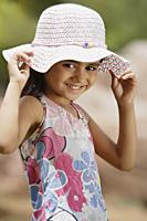 girl with big pink hat - Alex Mares-Manton