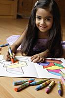 girl coloring - Alex Mares-Manton