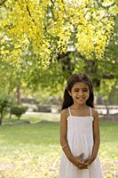 little girl standing under tree - Alex Mares-Manton