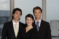 Portrait of three business colleagues - Yukmin