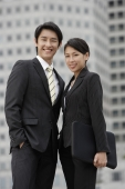 Portrait of business colleagues smiling - Yukmin