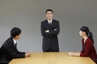 Business associates in conference room - Yukmin