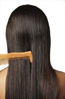 comb through long dark hair - Vivek Sharma